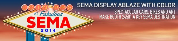 SEMA Display Ablaze With Color Spectacular Cars Bikes And Art Make Booth 24501 A Key Destination
