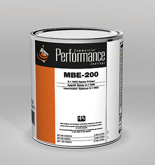 Product Can Photo: CPC MBE-200 2.1 VOC Epoxy Primer