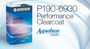 P190-6930 Performance Clearcoat - Aquabase Plus