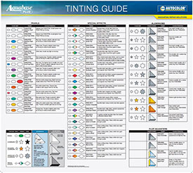 Tint Guide Posters