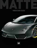 Cover of the Matte Finish Care guide
