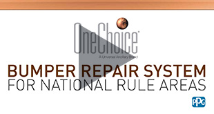 PPG OneChoice Bumper Repair System Video