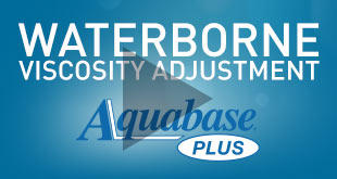 Aquabase Plus Waterborne Viscosity Video