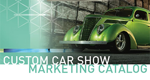 Custom Car Show Marketing Catalog