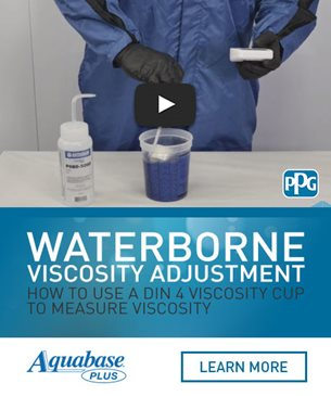 Aquabase Plus Waterborne Viscosity Adjustment Video