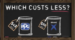PPG Pricing Comparison Mix Ratio Flyer