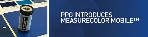 Ppg Introduces Measurecolor Mobile