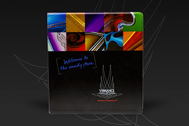 Vibrance Collection Color Card Binder
